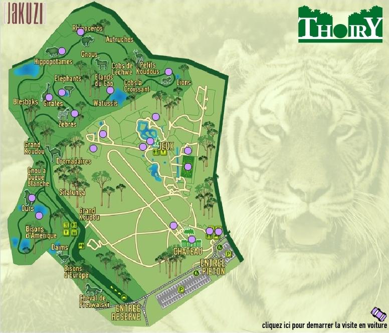 Plan Du Parc De Thoiry Pictures to pin on Pinterest